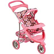 Baby carriage, pink - Doll Stroller