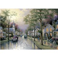 Schmidt Puzzle In the morning in his hometown 1000 pieces - Puzzle