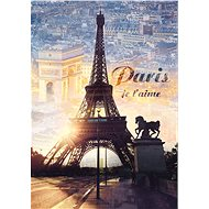 Hit the Paris puzzle at dawn with 1000 pieces - Puzzle
