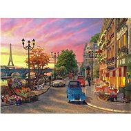 Anatolian Puzzle Sunset over the Seine 1000 pieces - Puzzle