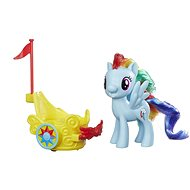 My Little Pony Rainbow Dash with cart - Game set