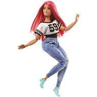 Barbie sportswoman - Hiphoperka with radio - Doll
