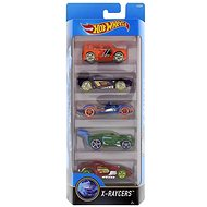 Hot Wheels X-Raycers - 5 pcs - Toy Car Set