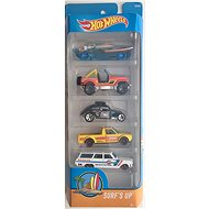 Hot Wheels Toy Cars - Surf´s Up, 5pcs - Toy Car Set