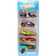 Hot Wheels Matchbox Cars 5pcs - Street Beasts - Toy Car Set