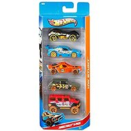 Hot Wheels Model cars 5pcs - Jungle Rally - Toy Car Set