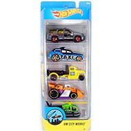 Hot Wheels Model cars 5pcs - HW City Works - Toy Car Set