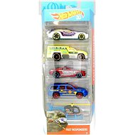 Hot Wheels Angels 5 Pieces Fast Responders - Toy Car Set