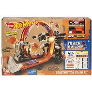 Hot Wheels Track Builder Construction Crash Kit - Game set