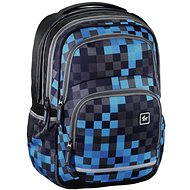 Hama All Out Blaze Blue Pixel - Backpack