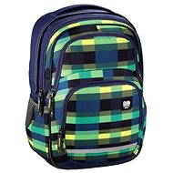 Hama All Out Blaby Summer Check Green - School Bag