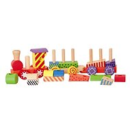 Woody Patterned Train - Building Kit