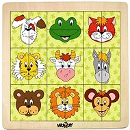 Woody Animal Heads - Puzzle