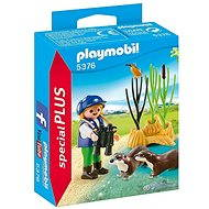 Playmobil Young Explorer with Otters 5376 - Building Kit