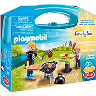 Playmobil 5649 Backyard Barbecue Carry Case - Building Kit