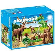 Playmobil 6817 Stag with Deer Family - Building Kit
