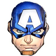 Avengers 3D Pillow Cpt. America - Children's bedroom decoration