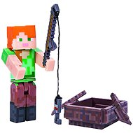 Minecraft Alex with the boat - Figurine