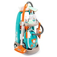 Smoby Trolley for a small cleaner with a vacuum cleaner - Game set