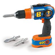 Smoby Bořek Battery Drill, with Screwdriver and Drill Bits - Game set