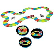 Glow in the Dark Track + Car with LED Lights - Slot Car Track