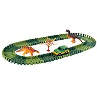 Variable track with dinosaurs - Slot Car Track