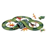 Variable Track with Dinosaurs and Tunnel - Slot Car Track