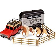 Trailer with a Horse