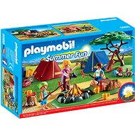 Playmobil 6888 Camp site with LED fire - Building Kit