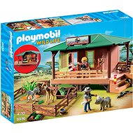 Playmobil 6936 Ranger Station with Animal Area - Building Kit