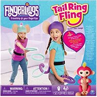 Fingerlings Monkey Game Tail Ring Fling - Board Game