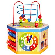 Bino Active cube 7-in-1 - Educational toy