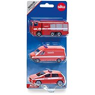 Siku Fire Set 3 Cars CZ