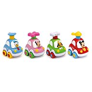 Clementoni Disney Press and Go car - Toddler Toy