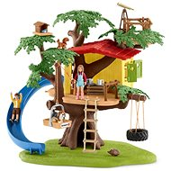 Schleich House on an adventurous tree - Game Set