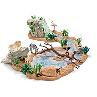 Schleich Animal world at the waterfall