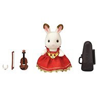 Sylvanian Families Town - Violinist Chocolate Rabbit - Game set