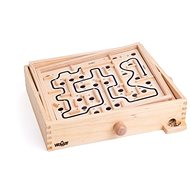 Woody Labyrinth Puzzle that Tilts
