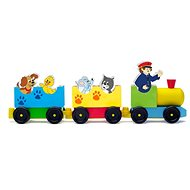Woody Train with Animals