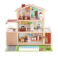 Hape Large Family House with a Garage - Children's playhouse