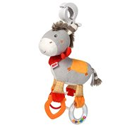 Nuk Happy Farm Donkey, with a Clip