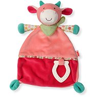 Nuk Happy Farm Baby Comforter + Clip Cow - Toddler Toy