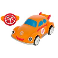 Volkswagen Beetle orange