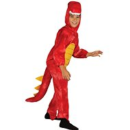 Dinosaurus Costumes Red Size M - Children's costume