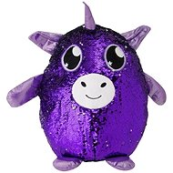 Glitter Unicorn - Purple Large - Figurine