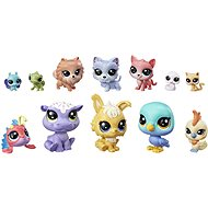 Littlest Pet Shop Large Pack of Animals 12 pcs Cupcakes - Game Set