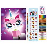LEGO Movie 2 Stationery Set with Unikitty Sketchbook - School Set