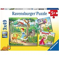 Ravensburger 080519 Little Red Riding Hood - Puzzle