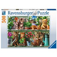 Ravensburger 148240 Cats on the shelf
