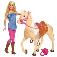 Barbie Doll with horse
